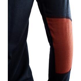 Aclima LightWool Reinforced T-shirt à col ras-du-cou manches courtes Femme, navy blazer/red ochre